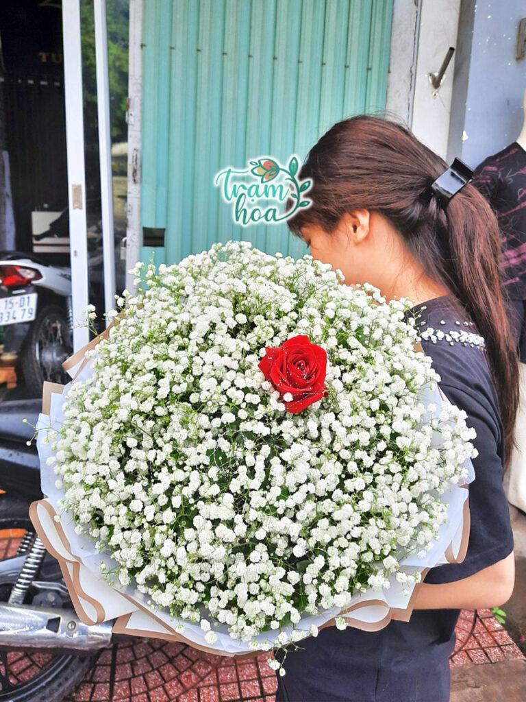 Bó hoa hồng 1 bông đẹp nhất
