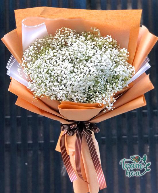 Bó hoa baby trắng có nhiều mức giá khác nhau