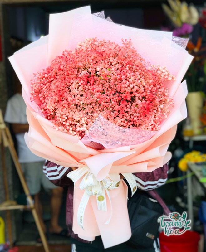 Bó hoa baby cầu hôn