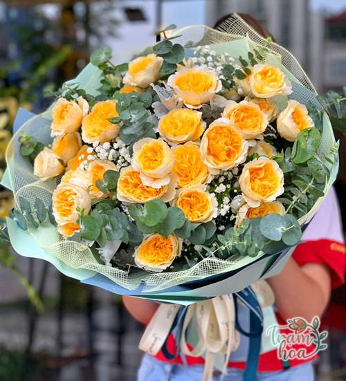 Bó Hoa Hồng Juliet Nhập Khẩu