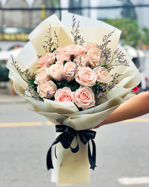 Bó hoa hồng thay lời muốn nói
